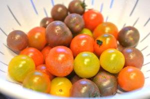 Heirloom Tomato, Watermelon, and Feta Salad- tomatoes