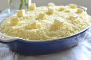 parmesan-mashed-potatoes-in-pan-whole-unbaked